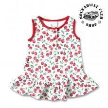 Šatičky dětské Six Bunnies Cute Cherries Sleeves