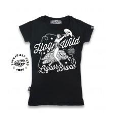 Tričko Dámské Liquor Brand Hog Wild