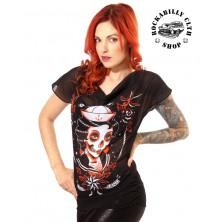 Dámská průhledná košilka Liquor Brand Dark Seas