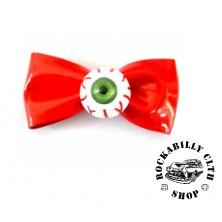 Sponka do vlasů Rocka Hairclip Eyeball Red