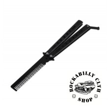Hřeben Rocka Butterfly Knife Comb Black