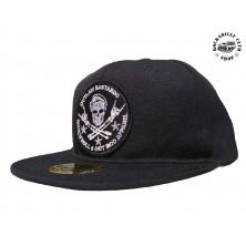 Kšiltovka snapback Outlaw Bastards Skull Black