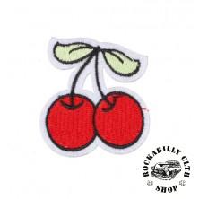 Nášivka Rocka Cherries Red