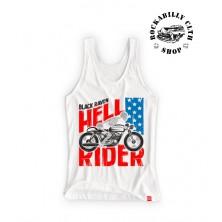 Tílko dámské Black Raven Hell Rider