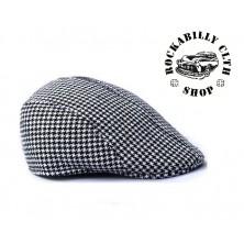 Čepice Outlaw Bastards Flat Hat Cap Blk/ Wht