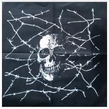 Šátek Rocka Black Prisoner Skull