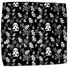 Šátek Rocka Black Misfits Skulls & Hands