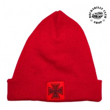 Kulich čepice Outlaw Bastards Beanie Cross Red