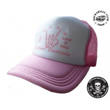 Kšiltovka Truckerka Outlaw Bastards R/N/R Pink