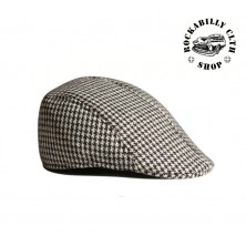 Čepice Outlaw Bastards Flat Hat Cap Brown / Wht