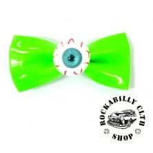 Sponka do vlasů horror Rocka Hairclip Eyeball Green