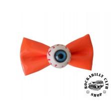 Sponka do vlasů horror Rocka Hairclip Eyeball Orange