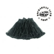 Spodnička retro rockabilly pin-up Tutu Swing Skirt Black