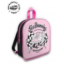 Dětská taška / batoh Six Bunnies Rollerskate Pink