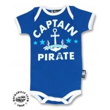 Dětské Body Six Bunnies Capitain Pirate
