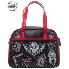 Taška Kabelka Sourpuss Clothing Friday the 13th Bowler Purse