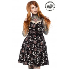 Dámské šaty Rockabilly Retro Pin Up Sourpuss Clothing Lucy Fur Floozy Dress