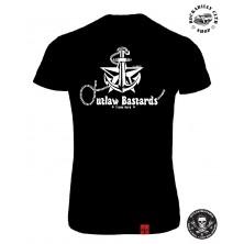 Tričko Dámské Outlaw Bastards Nautical
