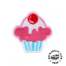 Nášivka Rocka Cupcake Pink