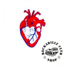 Nášivka Rocka Bloody Heart