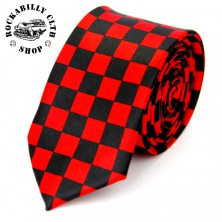 Kravata Rocka Tie Racers Red/ Blk