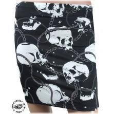 Sukně Liquor Brand Skulls & Chains