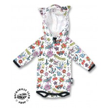Dětské Body Six Bunnies Cute Flash Hood