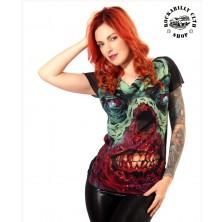 Dámská průhledná košilka / tričko Liquor Brand Brains