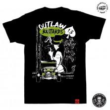 Tričko pánské Outlaw Bastards Bad Girl