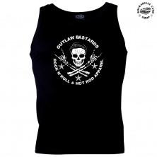 Pánské tílko Outlaw Bastards Skull