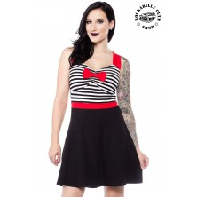 Dámské šaty Rockabilly Retro Pin Up Sourpuss Clothing Sweetheart Dress