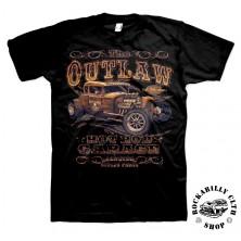 Tričko pánské American Hotrods Outlaw Hotrod Garage