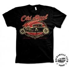 Tričko pánské American Hotrods Old Skool Gearhead