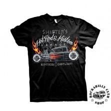 Tričko pánské American Hotrods Shifters Hot Rods & Kustom