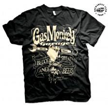 Pánské tričko Gas Monkey Garage Wrench Label
