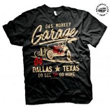 Pánské tričko Gas Monkey Garage Go Big Or Go Home