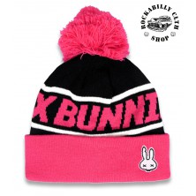 Dětský kulich Six Bunnies Pom-Pom Pink Beanie