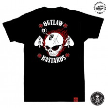 Tričko pánské Outlaw Bastards Gear Head