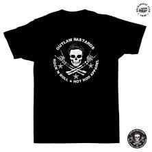 Dětské tričko Outlaw Bastards Skull