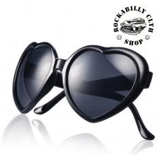 Sluneční brýle Rocka Sweetheart Blk