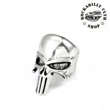 Prsten ocelový Rocka Punisher Silver