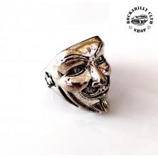 Prsten ocelový Rocka Vendetta Silver
