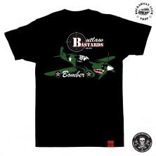 Tričko pánské Outlaw Bastards Bomber