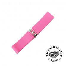 Elastický retro pásek Banned růžový