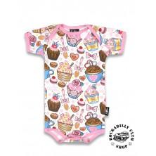 Dětské Body Six Bunnies Cupcakes