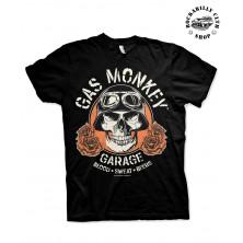 Pánské tričko Gas Monkey Garage Skull
