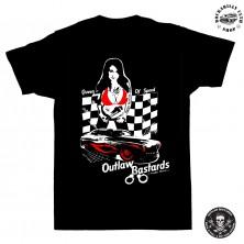 Dětské tričko Outlaw Bastards Queen Of Speed