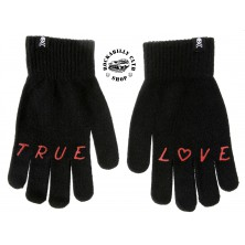 Zimní rukavice Sourpuss Clothing True Love Knit Gloves