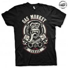Pánské tričko Gas Monkey Garage Pistons & Flames