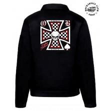Pánská bunda Outlaw Bastards Skull Cross Jacket